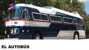 información del autobús
