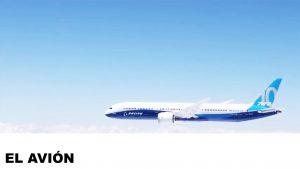 información del avión