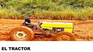 información del tractor