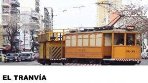 información del tranvía