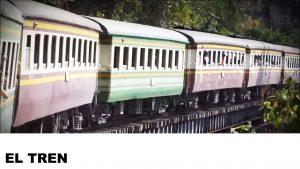 información del tren