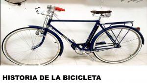 orígenes de la bicicleta