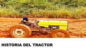 orígenes del tractor