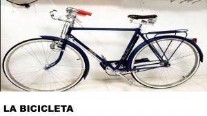 información de la bicicleta
