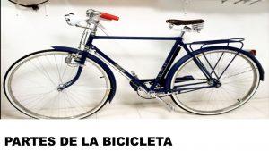 partes y piezas de la bicicleta