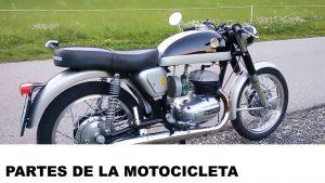 partes y piezas de la motocicleta