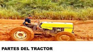 partes y piezas de un tractor