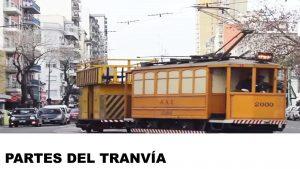 partes y piezas del tranvía