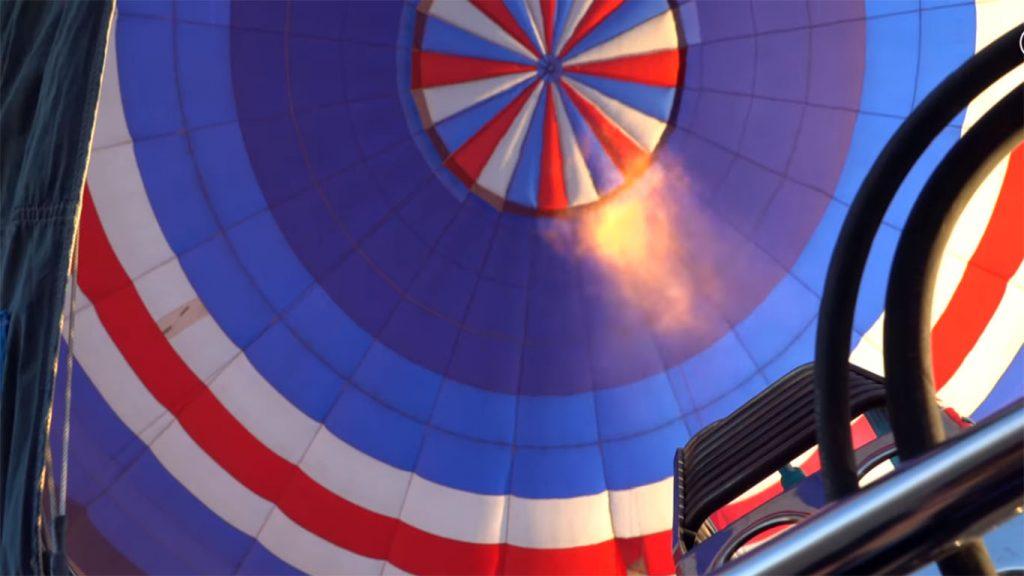 envoltura del globo aerostatico