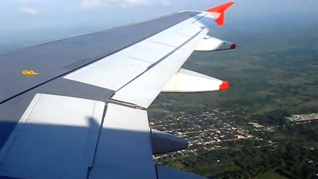 alas de una aeronave