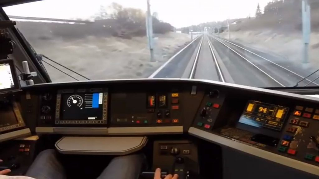 cabina del ferrocarril