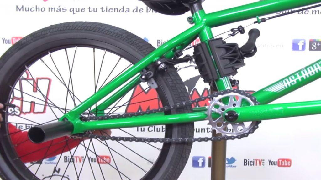cadena de la bici