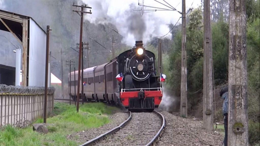 locomotora del ferrocarril