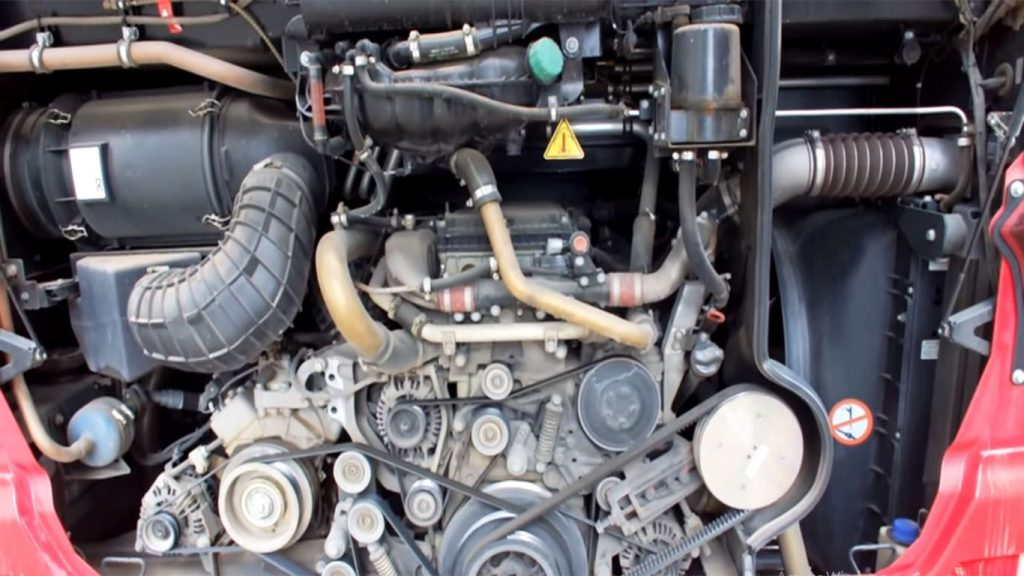 autobus motor