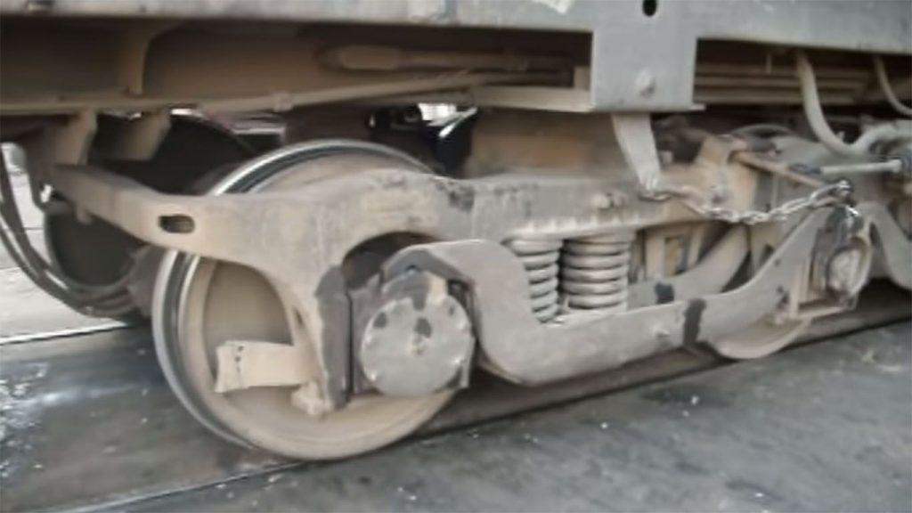 ruedas del ferrocarril