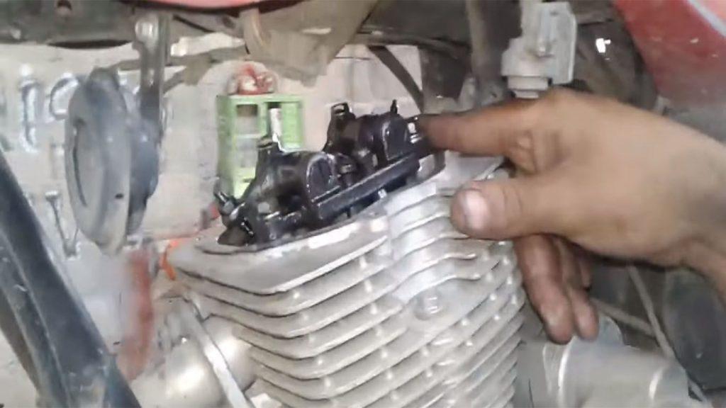 valvulas de la motocicleta