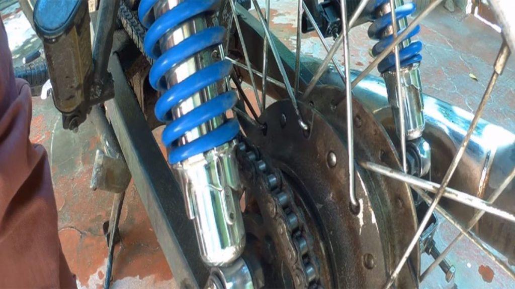 amortiguadores de la motocicleta