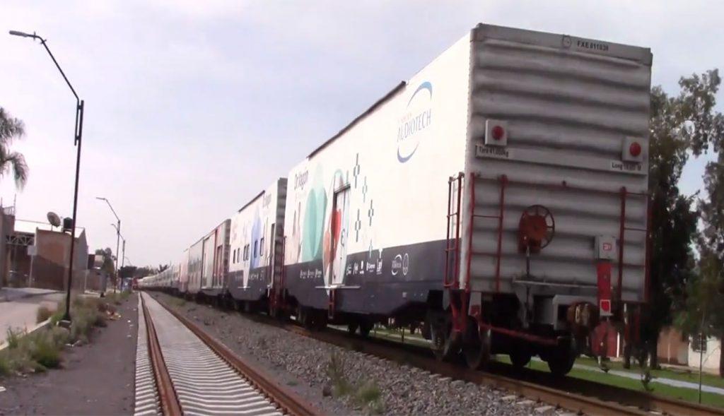 vagones del ferrocarril