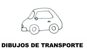 dibujos de los medios de transporte